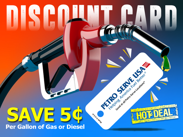 Discount Gas Card